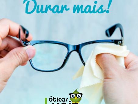 Seu óculos pode durar mais!
