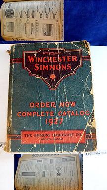 "1927 Winchester-Simmons Catalog ""The Simmons Hardware Co"" Wichita Ks"