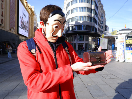 "Free ""La Casa de papel"" Walking Tour in Madrid – Leaving the screen and going out to the streets"