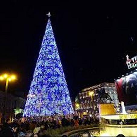 Tour Gratuito de pie por Navidad en Madrid