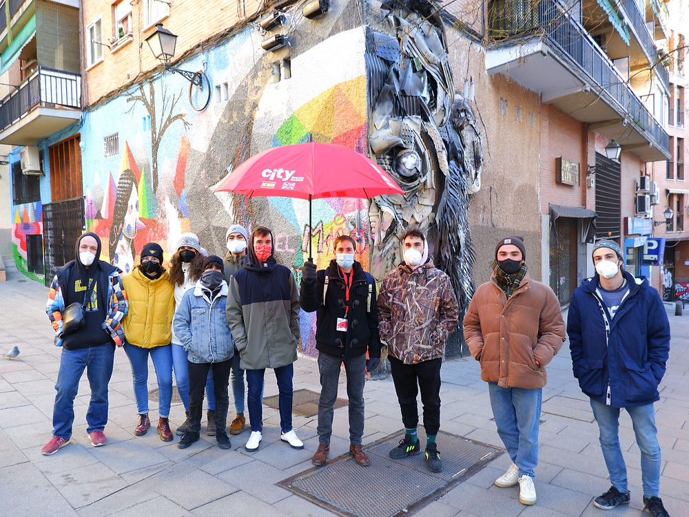 free graffiti and street art walking tour duirng Covid-19 times
