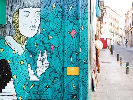 Visita gratuita de grafiti por el barrio de Lavapiés en Madrid – el único de su tipo gratis