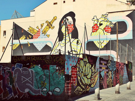 Free graffiti tour of the Lavapiés neighborhood in Madrid - the only one of its kind for free
