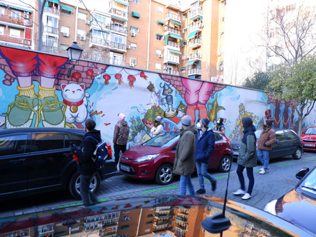 The Hottest Tour in Lavapiés Following the Graffiti and Street Art of Madrid