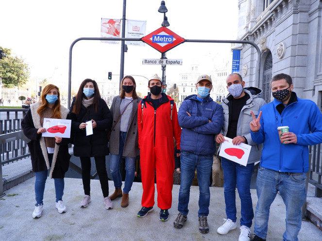 Money Heist In Banco De España