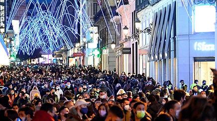 Aglomeraciones-calle-Preciados-Madrid
