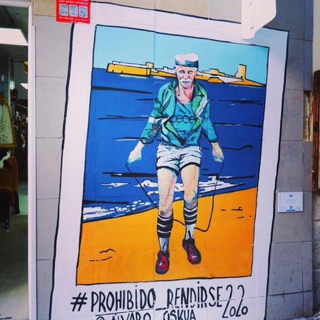 "Visita Guiada gratuita de Grafiti en Madrid - ""Prohibido Rendirse"""