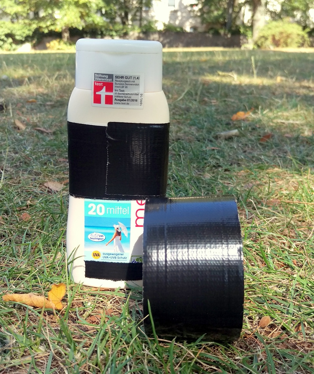duct tape for hiking, life hack