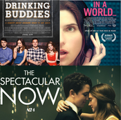 Drinking Buddies, In A World..., and The Spectacular Now (Triple Review)