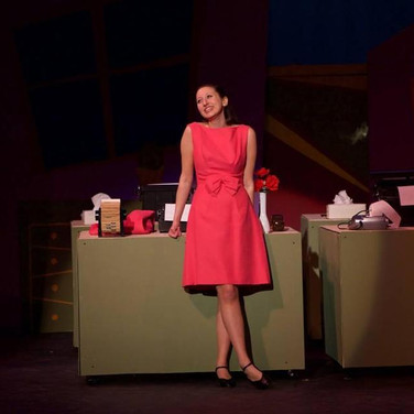 """As Rosemary Pilkington in """"How To Succeed In Business Without Really Trying"""""""