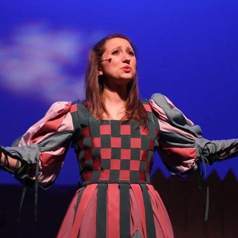 """As Elsie Maynard in Gilbert & Sullivan's """"The Yeomen Of The Guard"""""""