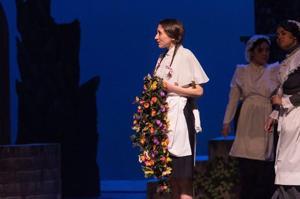 "As Constance Partlett in Gilbert & Sullivan's ""The Sorcerer"""