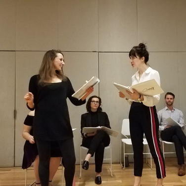 """As Colette in the first New York reading of """"Audrey: The New Musical"""""""