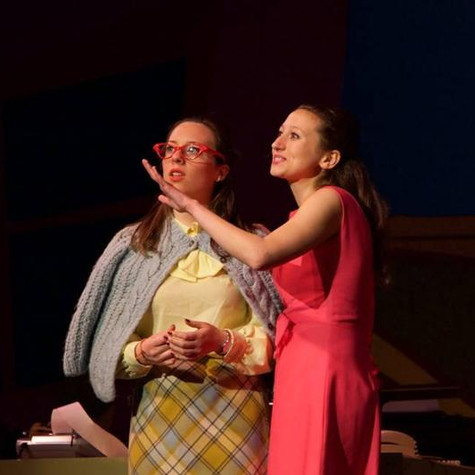 "As Rosemary Pilkington in ""How To Succeed In Business Without Really Trying"""