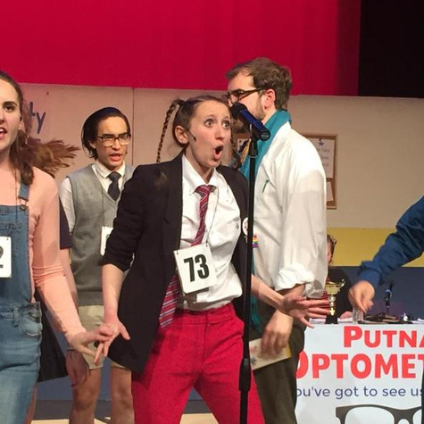 """As Logainne Schwartzandgrubenierre in """"The 25th Annual Putnam County Spelling Bee"""""""