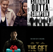 The Gift, Straight Outta Compton, and Mistress America (Triple Review)