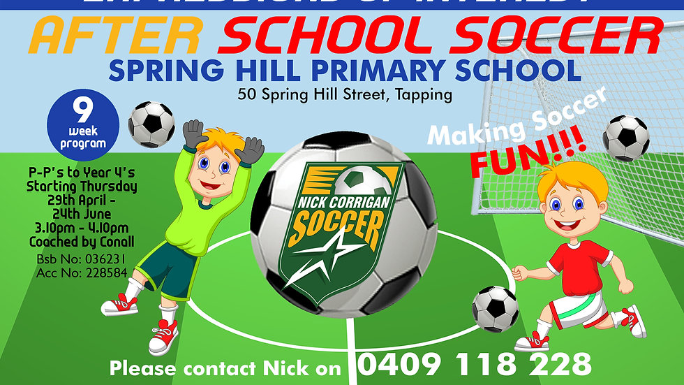 Springhill Primary (Thurs)