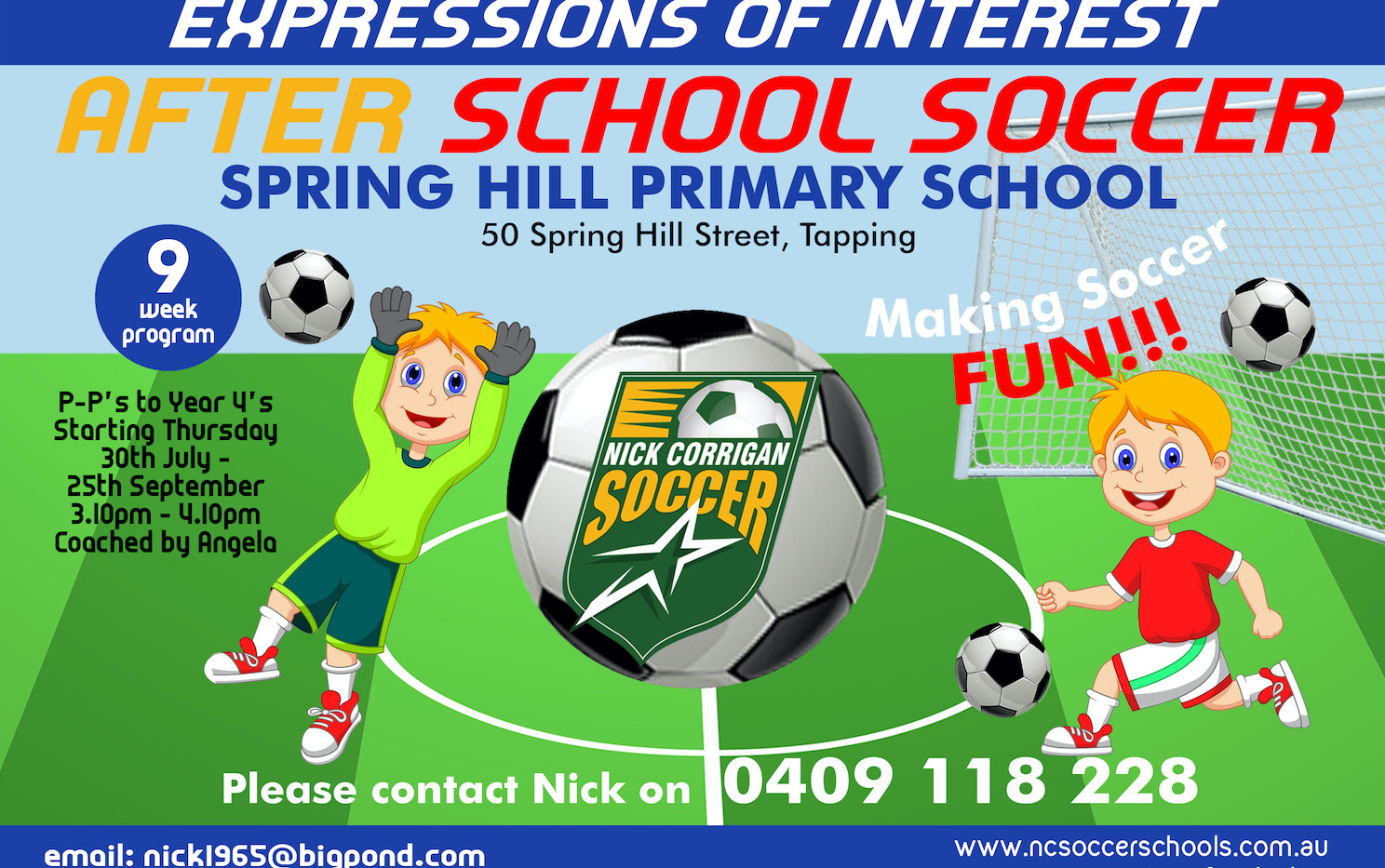 Springhill Primary School - Term 3 2020