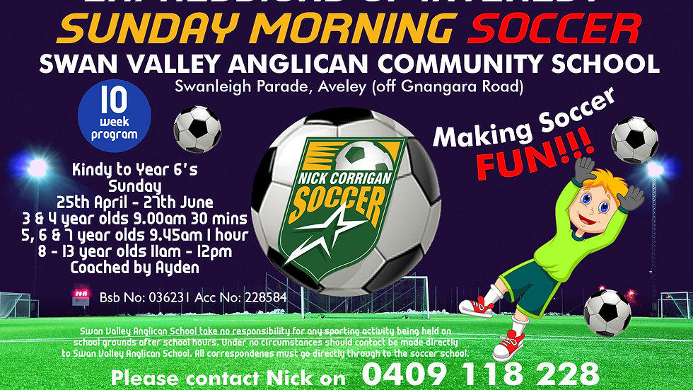 Swan Valley Anglican Community School (Sun)