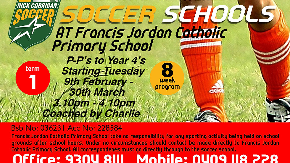 Francis Jordan Catholic Primary School (Tue)