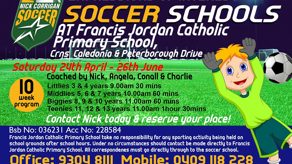 Francis Jordan Catholic Primary School (Sat)