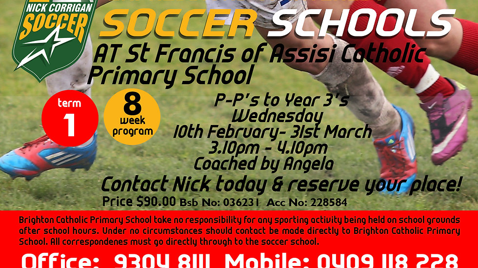 St Francis of Assisi Catholic Primary School (Wed)