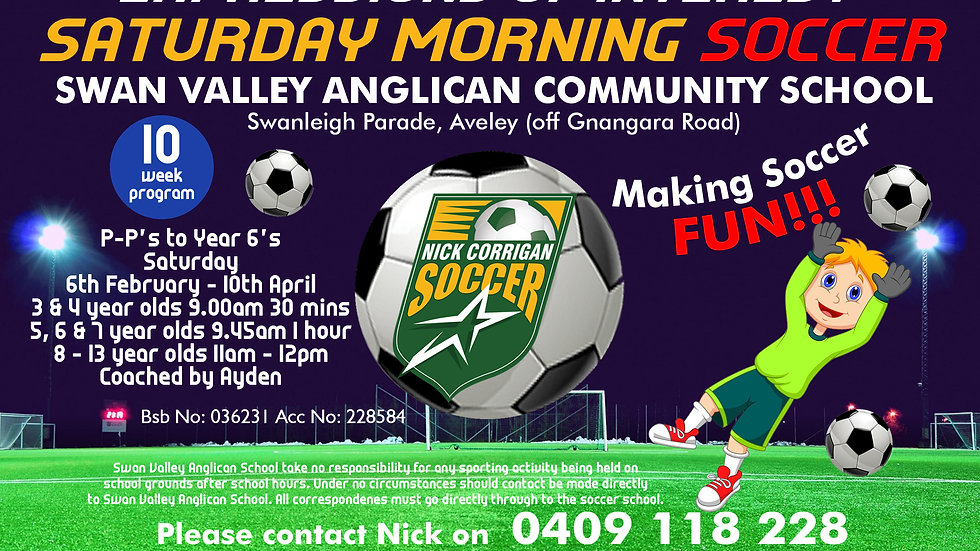 Swan Valley Anglican Community School (Sat)
