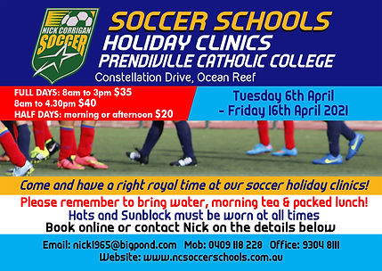 prendiville holiday clinic MARCH 2021.jp
