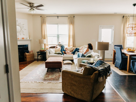 Creating a clean home!