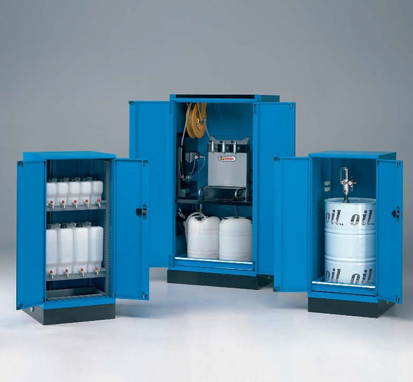 Shopfloor Equipment - Oil Storage Cabinets