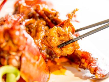 麻辣爆肉龙虾 Spicy Lobster