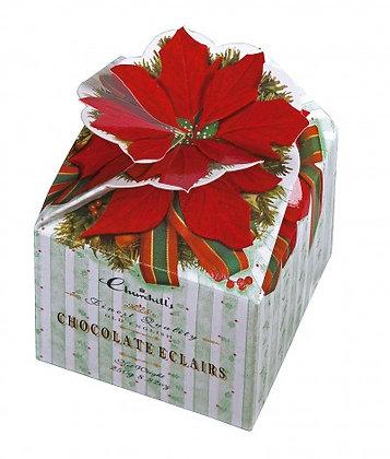 Poinsettia Boxes - Chocolade Eclairs