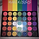 Thumbnail: Halo Kisses Rainbow pallet