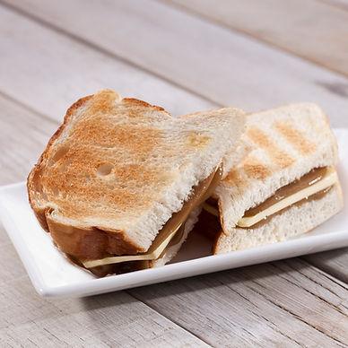 318. Butter & Kaya White Toast