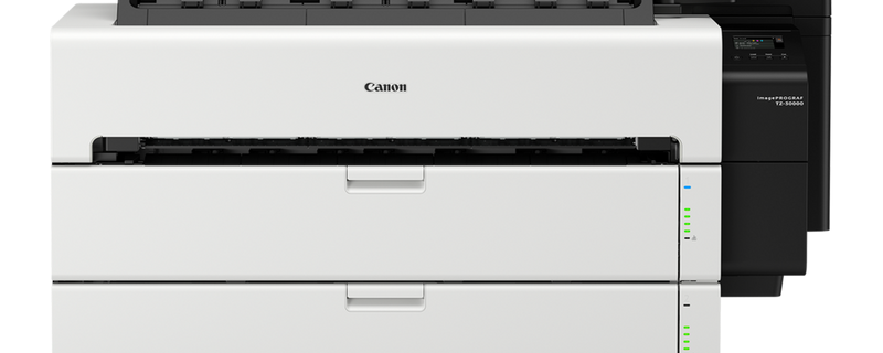 Canon TZ-30000 36 Zoll optional Scanner