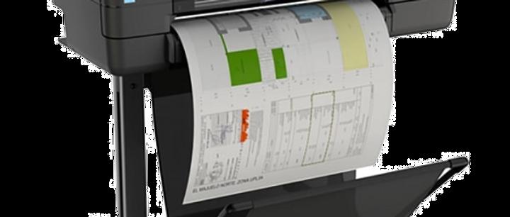 HP DesignJet T830 MFP 24 Zoll