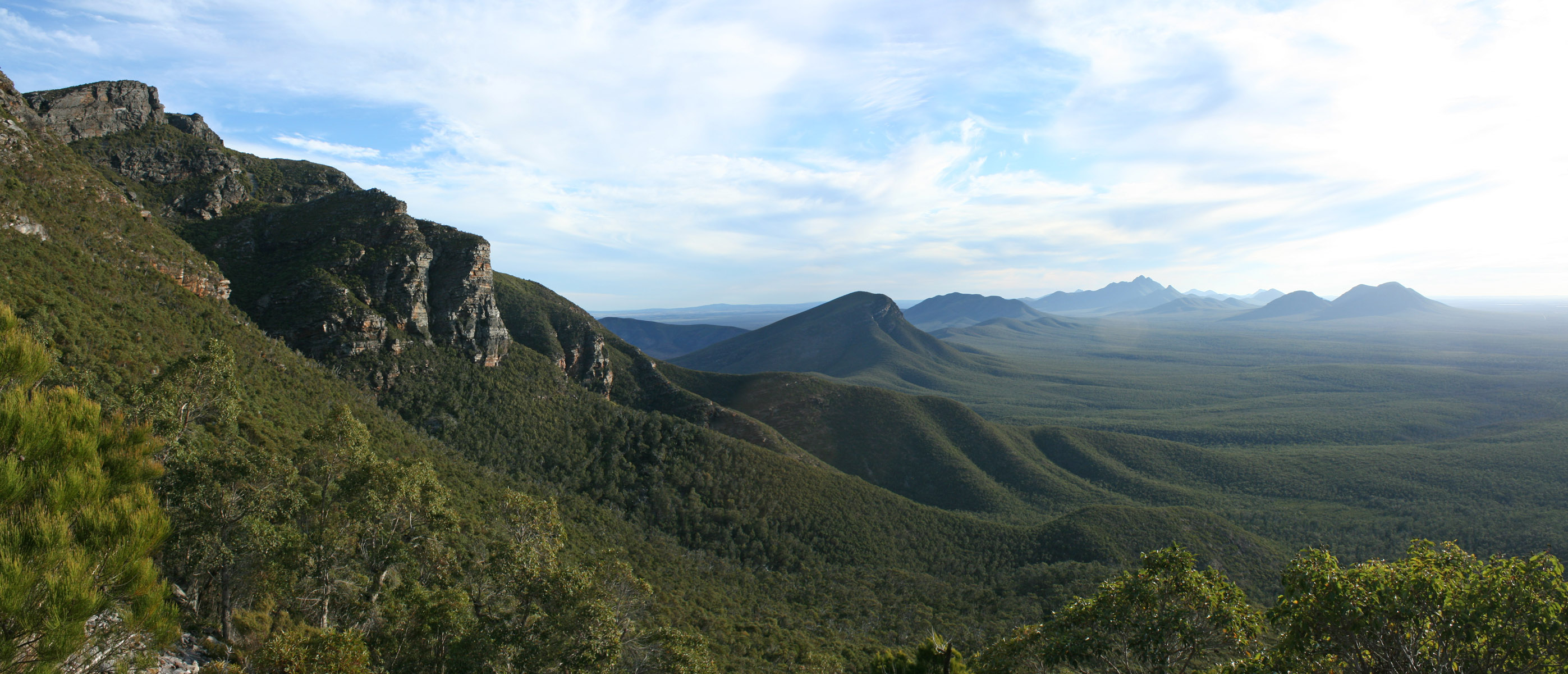 Bluff Knoll_Bula Meela looking west_Stirling Ranges NP_1