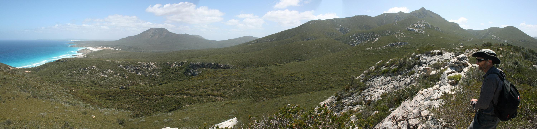 Thumb Peak Ridge looking west_Fitzgerald River NP_1