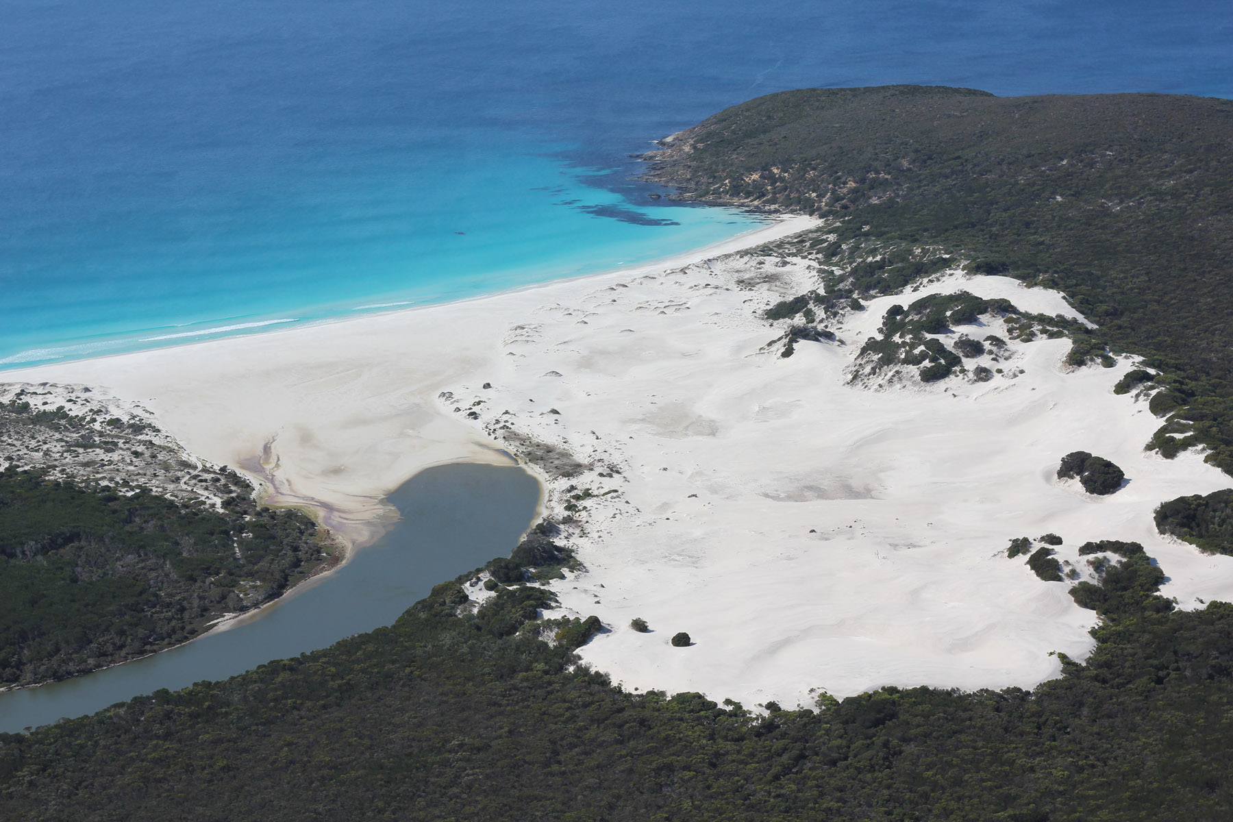 Point Charles and Fitzgerald Inlet from the air_Fitzgerald River NP_1