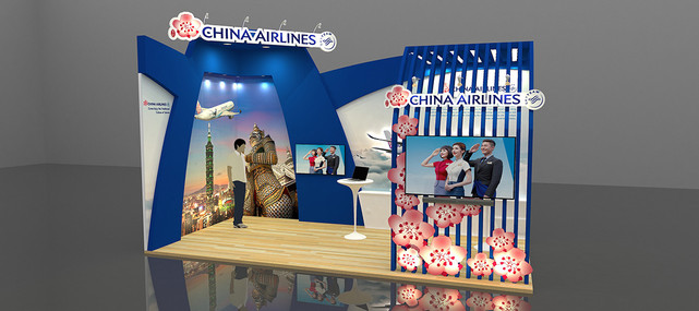 CHINA AIRLINE BOOTH