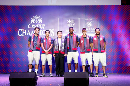 CHANG CHAMPION CUPS FC BARCELONA ASIA TOUR