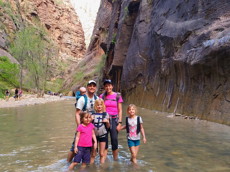 Zion National Park, UT: Hiking the Narrows with Kids