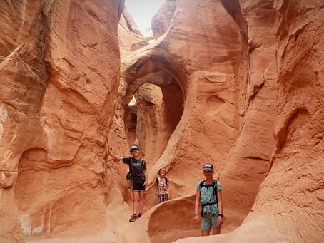 Peek-A-Boo & Spooky Slot Canyons: Escalante, Utah