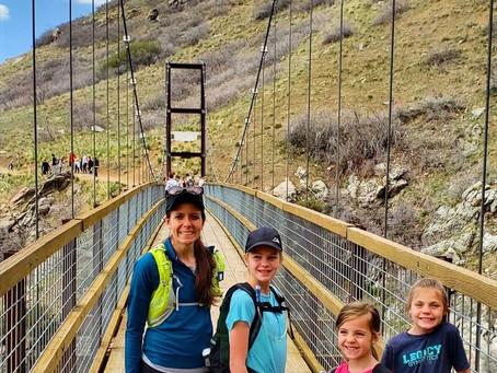 Bear Canyon Suspension Bridge: Draper, Utah