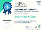 Sanitation & Disinfecting Services
