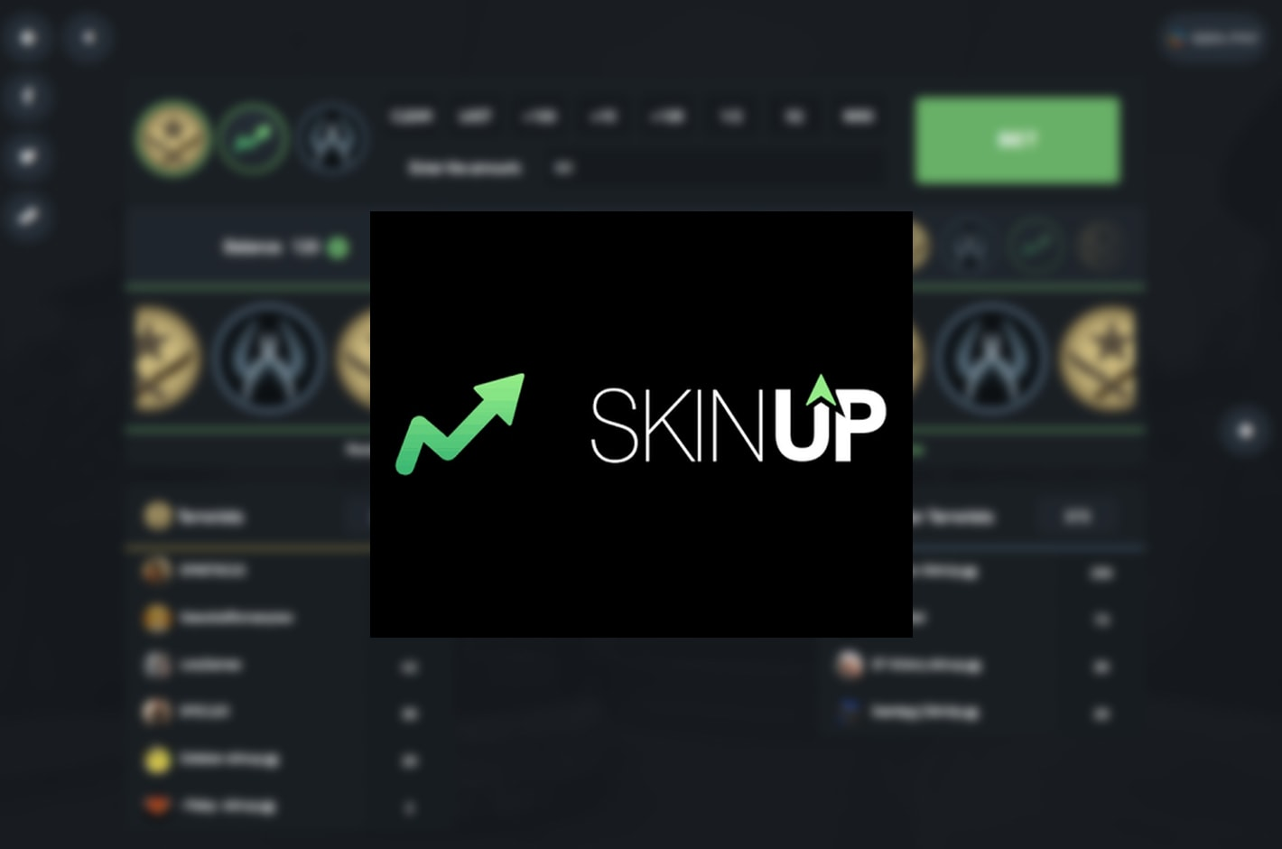 Skinup  Crash, Roulette, Mines,