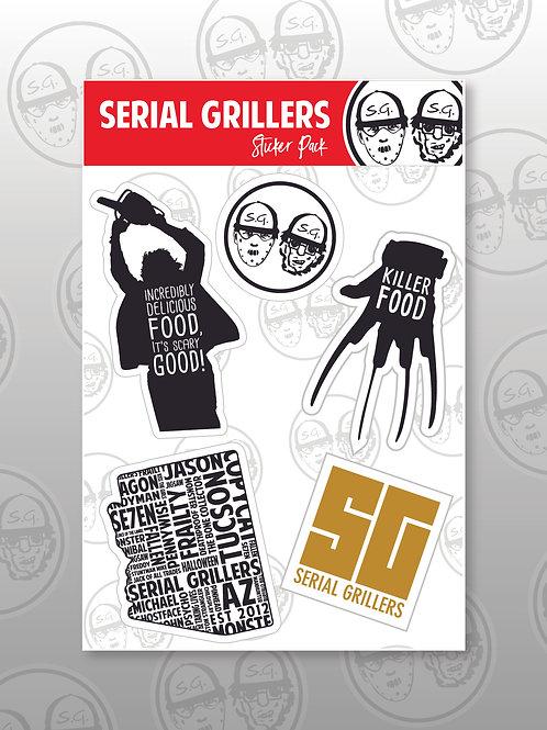 SG Sticker Pack