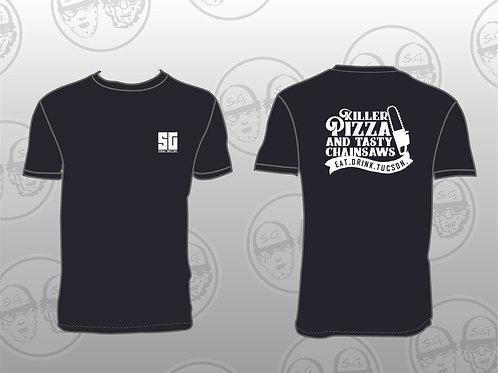 Men's SG Killer Pizza and Tasty Chainsaws T-Shirt