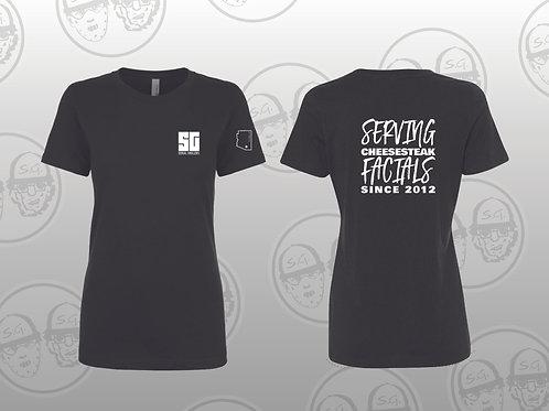 Women's SG Cheesesteak Facials T-Shirt