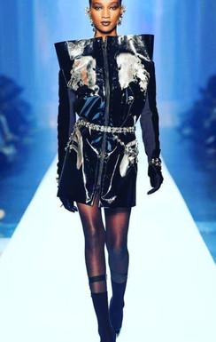 Jean Paul Gaultier fashion show.JPG